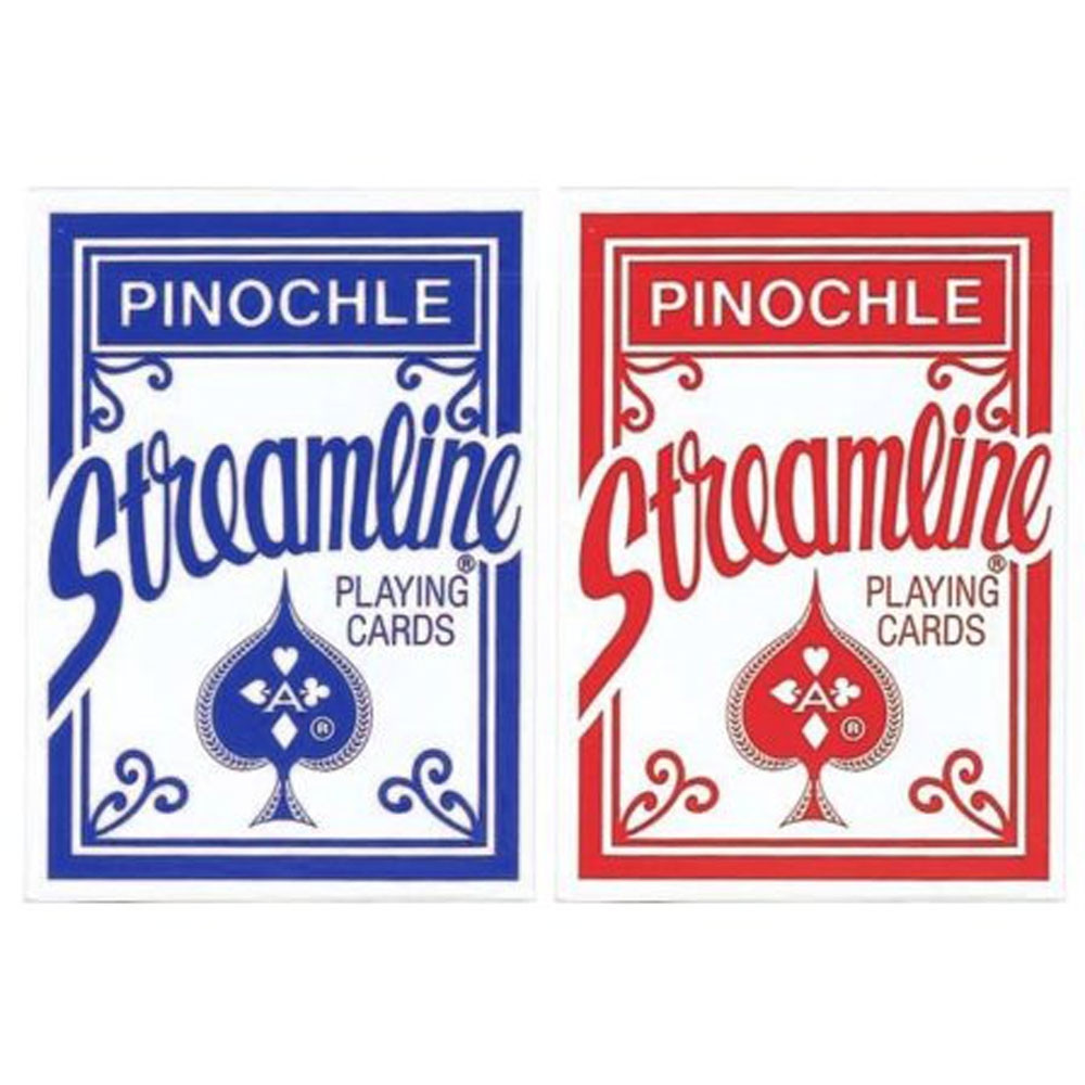 Streamline Pinochle Playing cards