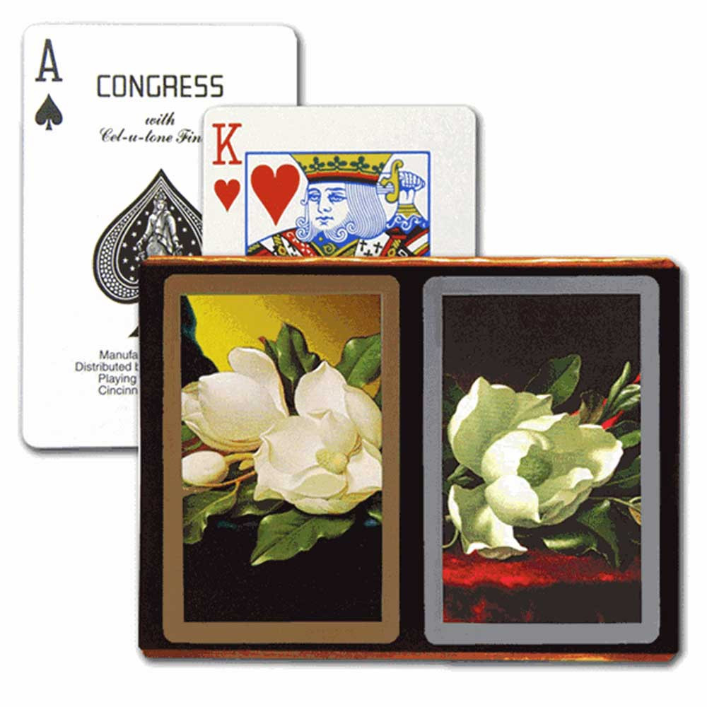 Congress Southern Charm Gold & Silver Bridge Designer Series Playing Cards
