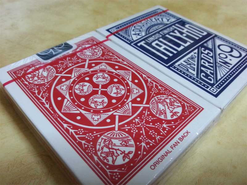 Tally-Ho Fan Back Standard Index Playing Cards