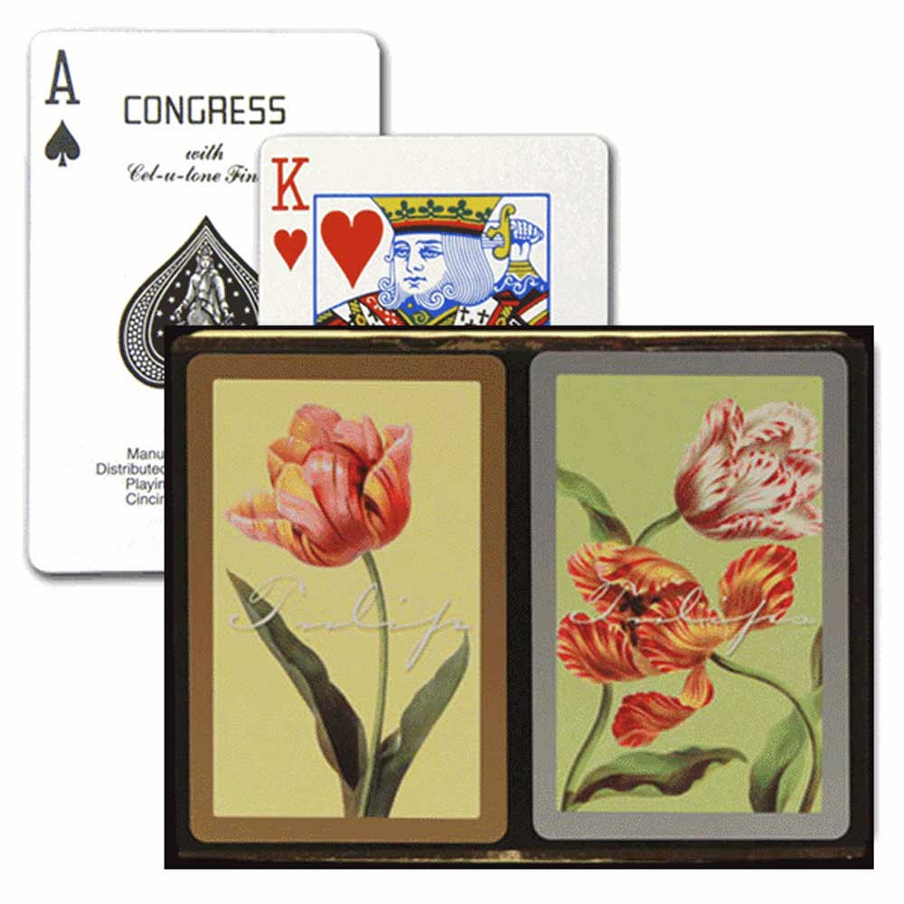 New Congress Black Marble Standard Index Playing Cards