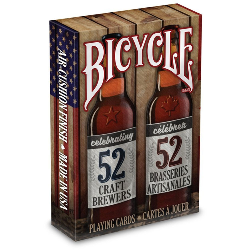 Bicycle Craft Beer Spirit of North America Playing Cards