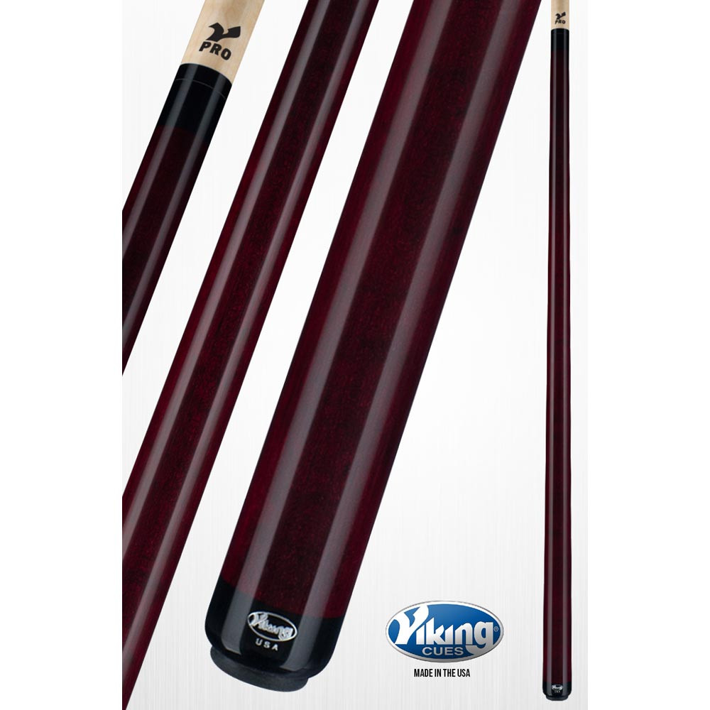 Viking A212 Bordeaux Red Pool Cue