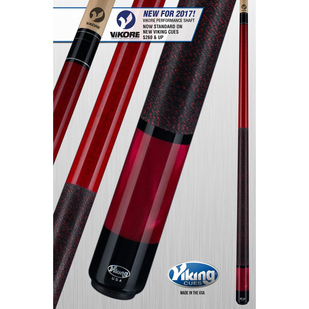 Viking ViKORE A286 Crimson Red Pool Cue