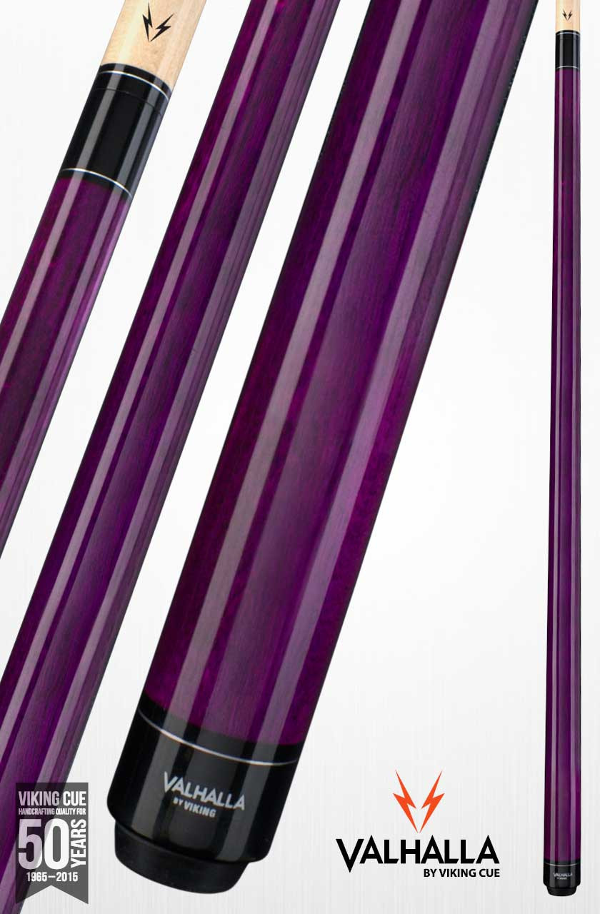 Viking Valhalla VA107 Purple Pool Cue Stick