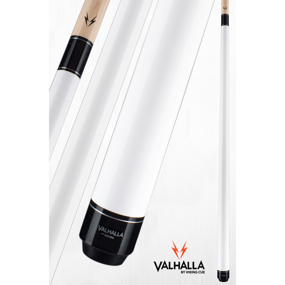 Valhalla VA108 White Pool Cue Stick from Viking Cue
