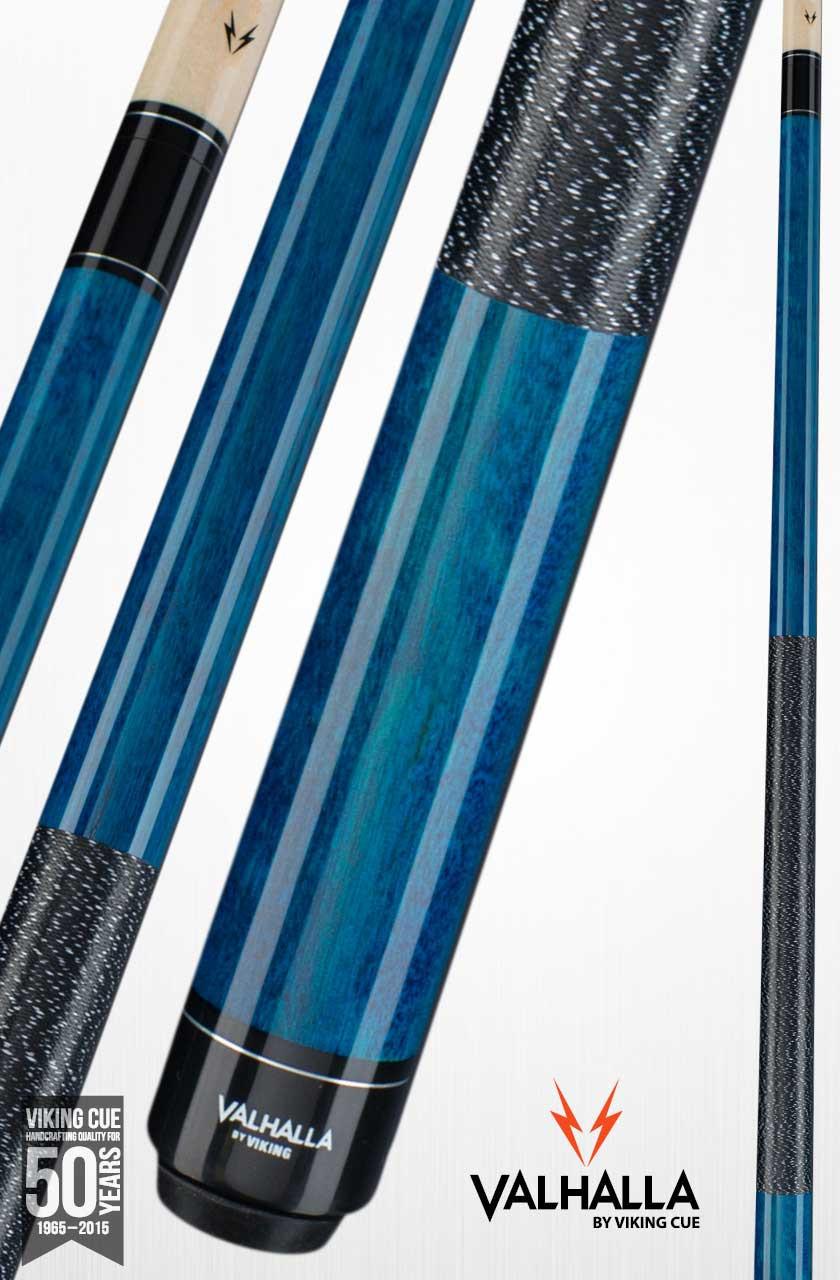 Viking Valhalla VA113 Blue Pool Cue Stick