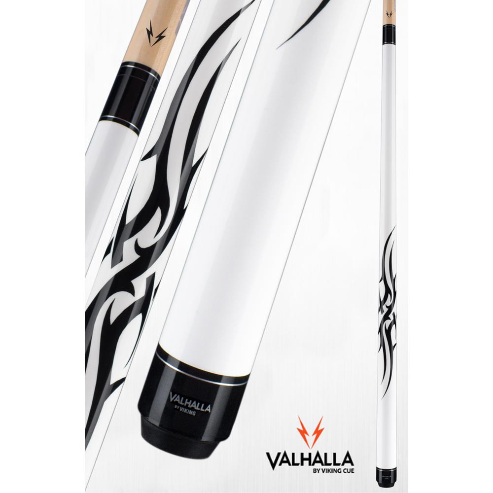 Valhalla VA203 White Pool Cue Stick from Viking Cue