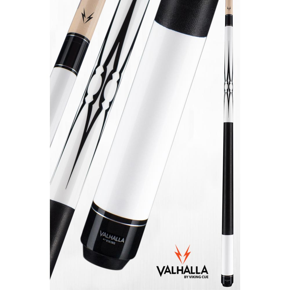 Valhalla VA234 White Pool Cue Stick from Viking Cue