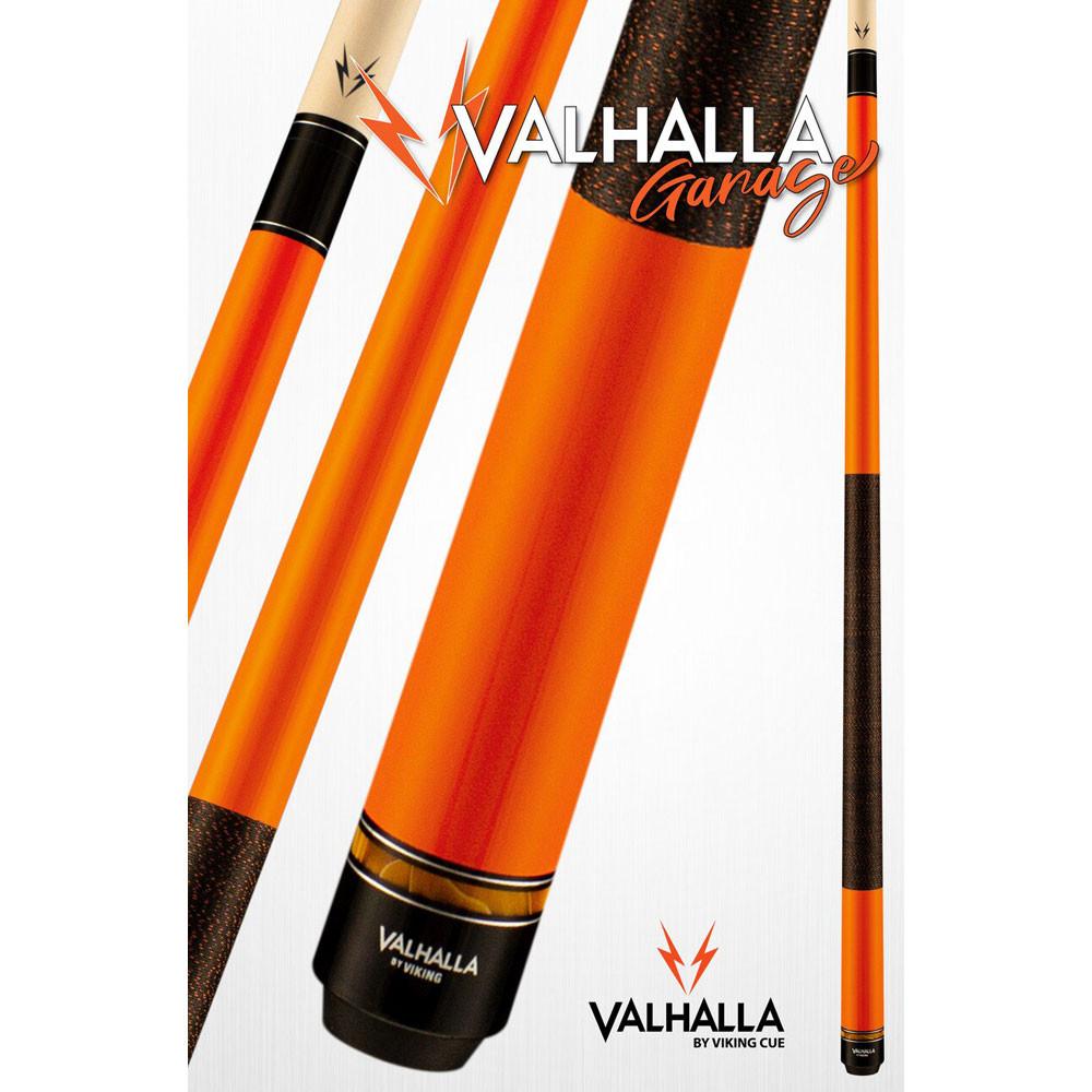 Valhalla Garage VG021 Orange Pool Cue Stick