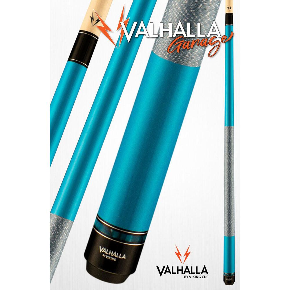 Valhalla Garage VG023 Turquoise Pool Cue Stick