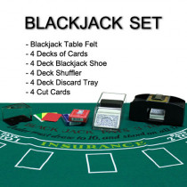 4 Deck Blackjack Dealer Kit