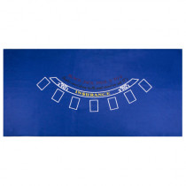Blue Blackjack Table felt - 72x36