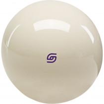 Aramith Tournament Magnetic Cast Phenolic Cue Ball with Purple Logo