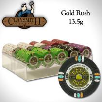 Gold Rush 200pc Poker Chip Set w/Acrylic Tray