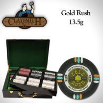Gold Rush 500pc Poker Chip Set w/Hi Gloss Case