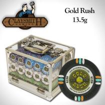 Gold Rush 600pc Poker Chip Set w/Acrylic Case