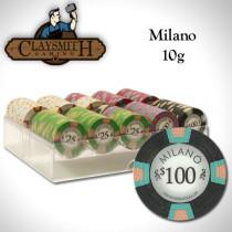 Claysmith Milano 200pc Poker Chip Set w/Acrylic Tray