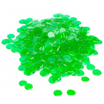 300 Pack Green Bingo Marker Chips