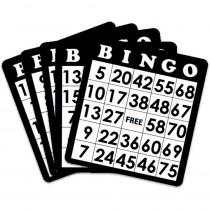 18 Black Bingo Cards