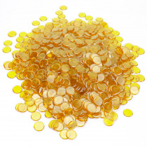 1000 Pack Yellow Bingo Marker Chips