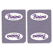 Binion's Casino Used Playing Cards