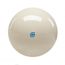 "Aramith Premiere 2 1/4"" Cast Phenolic Cue Ball with Blue Logo"