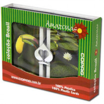COPAG Amazonas Plastic Playing Cards, Bridge SIze, Jumb Index