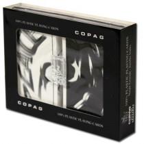COPAG Peace Plastic Playing Cards, White/Black, Bridge SIze, Jumb Index