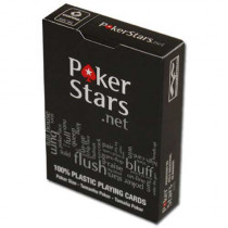 COPAG PokerStars.net Plastic Playing Cards - Black
