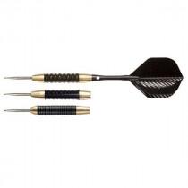 NODOR STA450 Black & Brass Steel Tip Dart Set