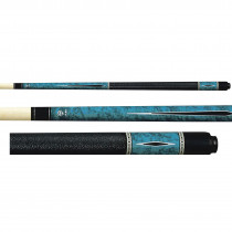 Lucky Pool Cue, L55, Blue