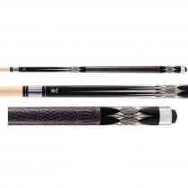 McDermott Star S51 Pool Cue - Black/Grey