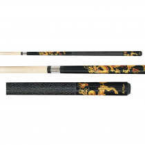 Players D-DRG Dragon Graphic Pool Cue Stick