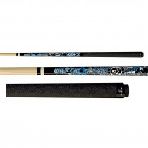Players D-GFB Anarchy Blue Live Hard Pool Cue Stick