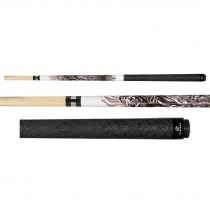 Players D-GR 8-Ball Grim Reaper Live Hard Pool Cue Stick