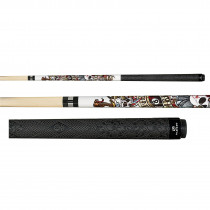 Players D-LH Live Hard Hustle Hard Pool Cue Stick