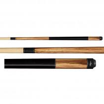 Players E-3300 Exotic Zebrawood Pool Cue Stick