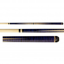 Players F-2610 Flirt Purple Tiger Stripe Women's Pool Cue Stick