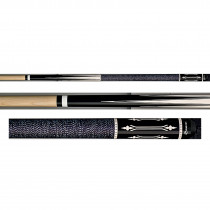 Players G-4117 Midnight Black Pool Cue Stick