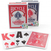 Bicycle EZ See Lo-Vision Playing Cards