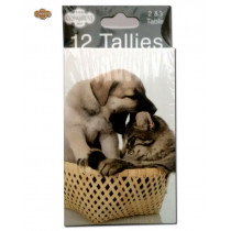 Congress Cat & Dog Bridge Tally Cards
