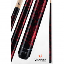 Valhalla VA212 Red Pool Cue Stick from Viking Cue