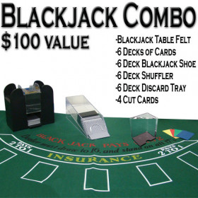 6 Deck Blackjack Dealer Set