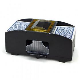 2 Deck Automatic Playing Card Shuffler
