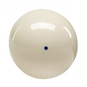 "Aramith 2 1/4"" Cast Phenolic Cue Ball with Blue Spot"