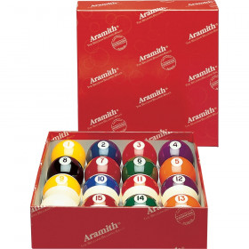 "Aramith Continental 2 1/4"" Pool Ball Set"