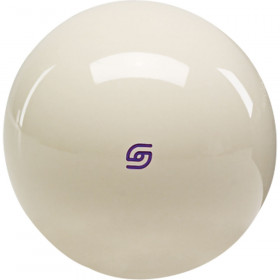 Aramith Duramith Magnetic Phenolic Cue Ball with Purple Logo
