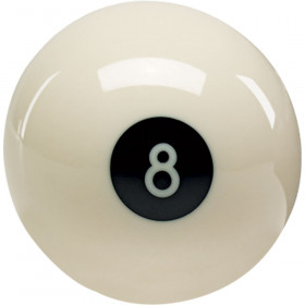 "Aramith 2 1/4"" Reversed 8-Ball"