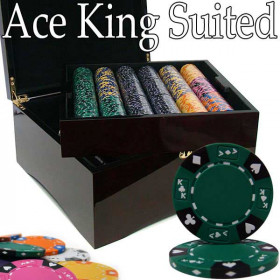 Bluff king casino suited poker chip set review casino mesquite nv river virgin