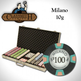 Claysmith Gaming Milano 750pc Poker Chip Set w/Aluminum Case